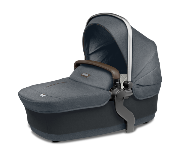 silver cross wave double stroller slate bassinet