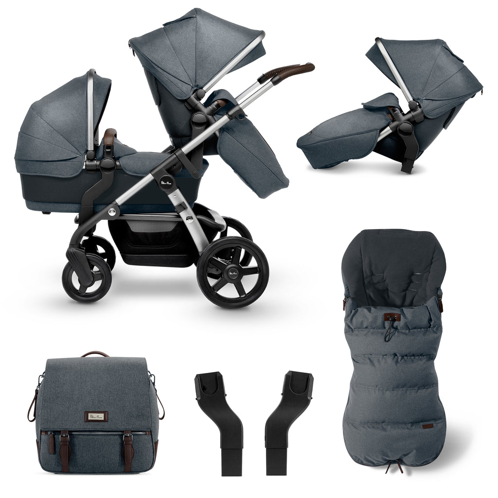 WAVE + Tandem Seat + Accessories Bundle - Slate