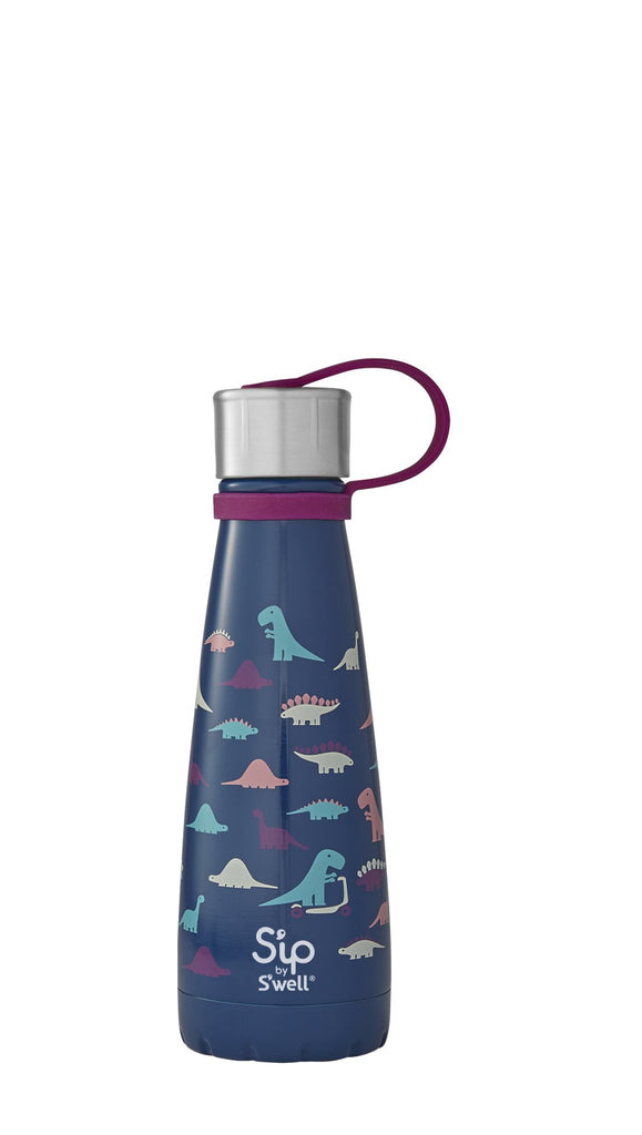 s'ip by s'well insulated stainless steel bottle 10 oz 295 ml dino days