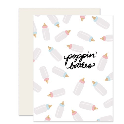 Poppin' Bottles Card