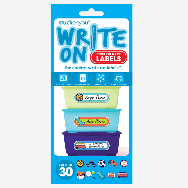 Write On Labels