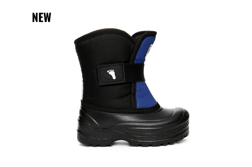 Scout Winter Boots - Black/Blue Reflective