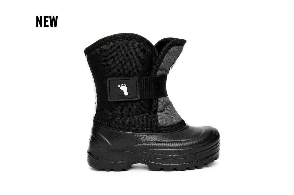 Scout Winter Boots - Black/Grey Reflective