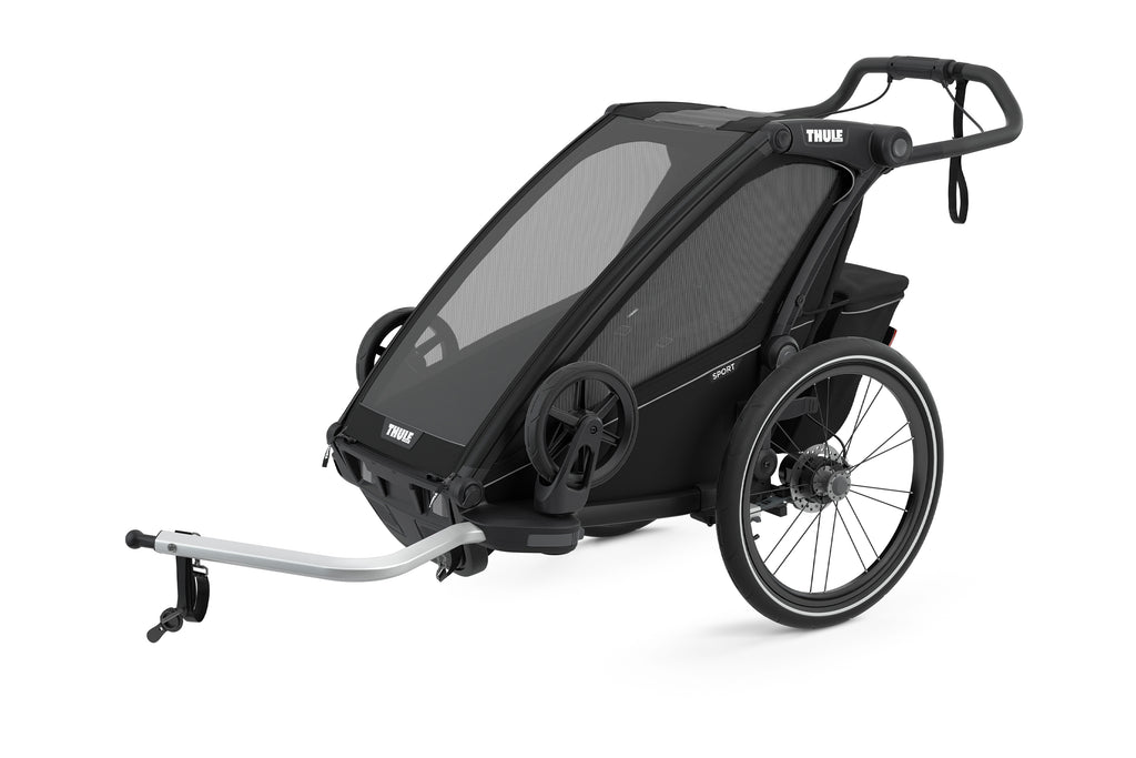 Chariot Sport Multi-Sport Trailer (Single) - Black