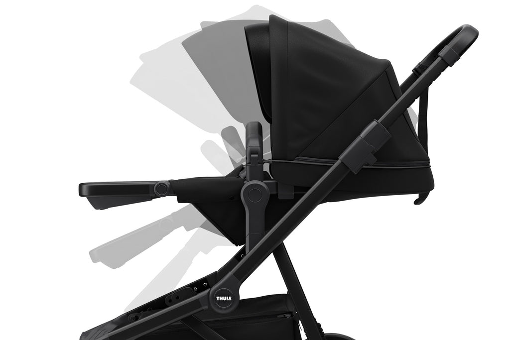 Sleek Stroller - Black on Black
