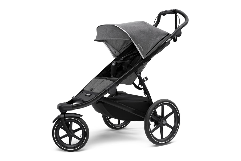 Urban Glide 2 All Terrain Stroller - Grey Melange/Black Frame