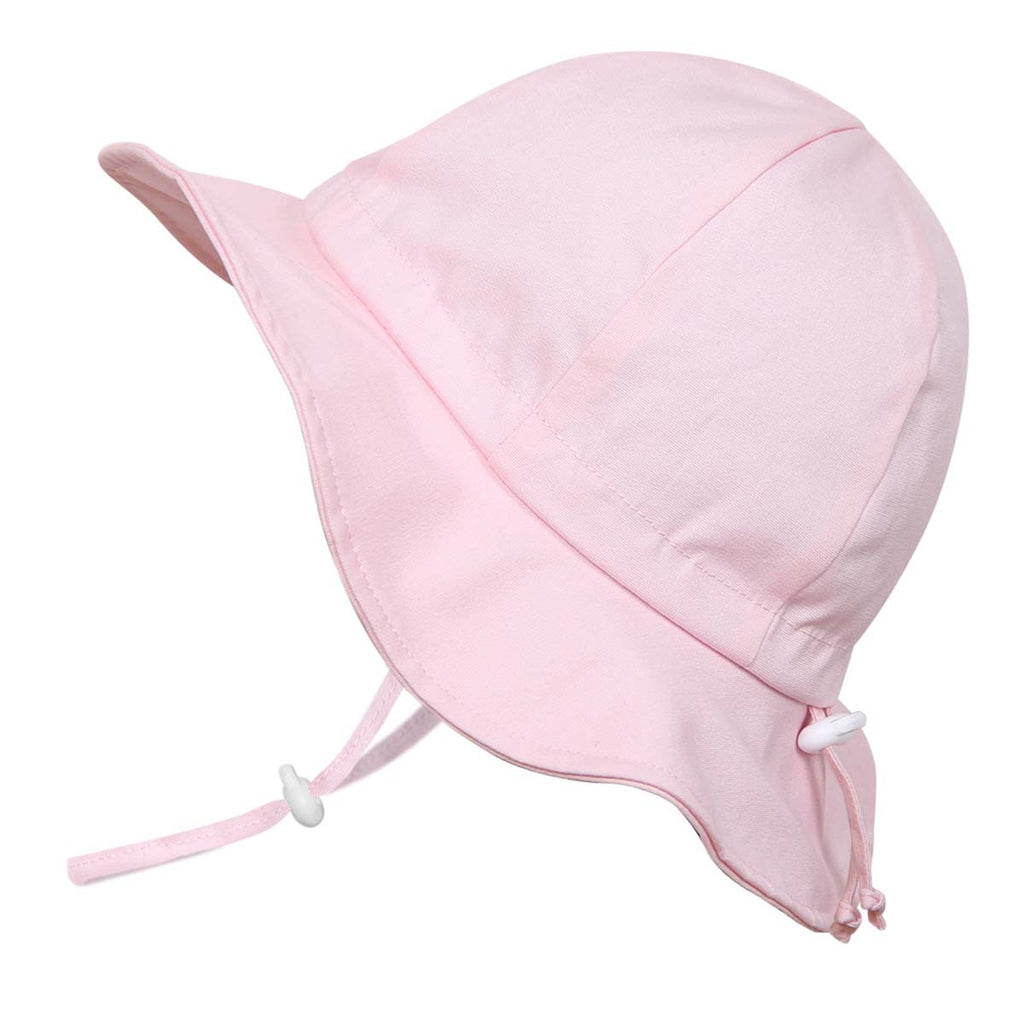 Grow With Me UPF 50+ Cotton Sun Hat - Pink