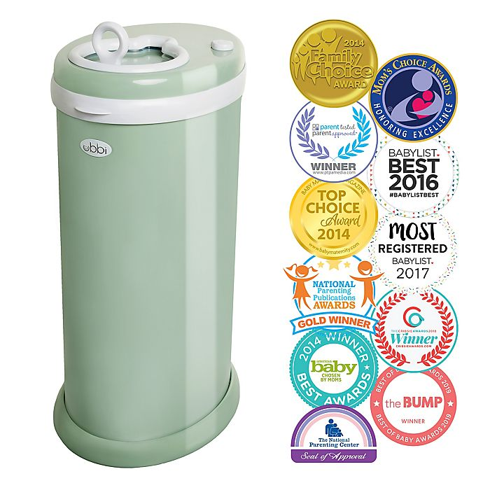 ubbi stainless steel diaper pail awards