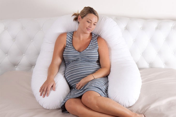 The SNUGGLE UP 6-in-1 Pregnancy, Body, Nursing/Feeding Pillow