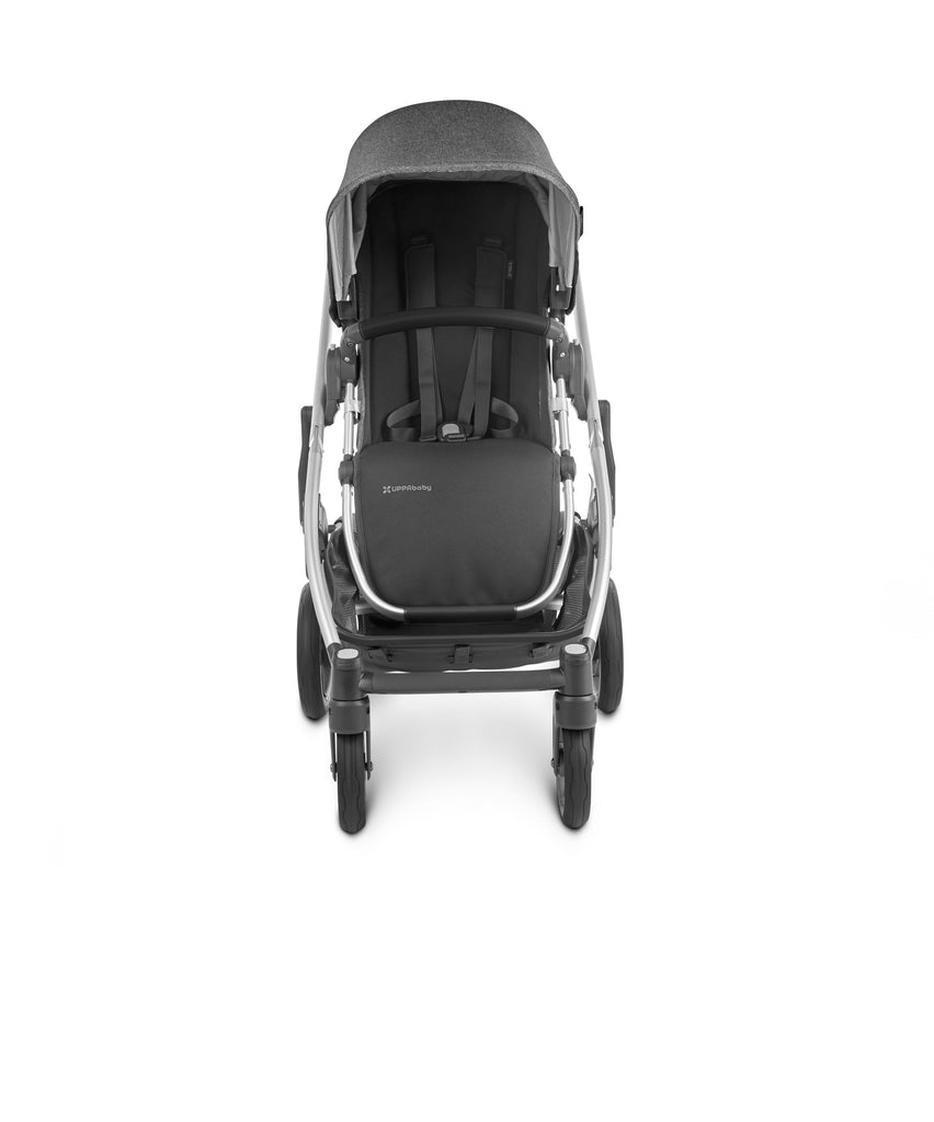CRUZ V2 Stroller - JORDAN (Charcoal Melange/Silver/Black Leather)