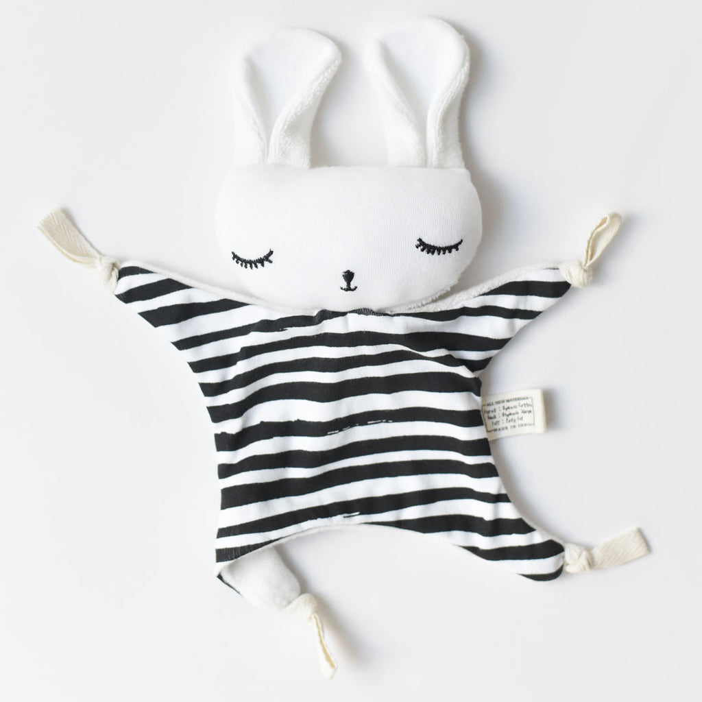 wee gallery cuddle bunny stripes