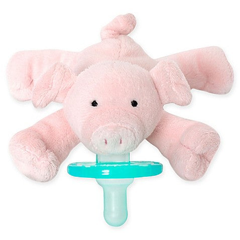 wubbanub infant pacifier piglet front