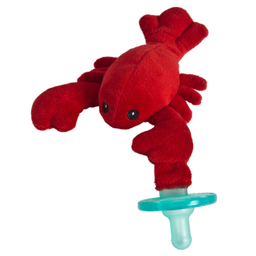mary meyer wubbanub lobbie lobster pacifier plush