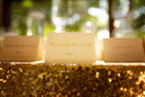 Foiled Place Cards