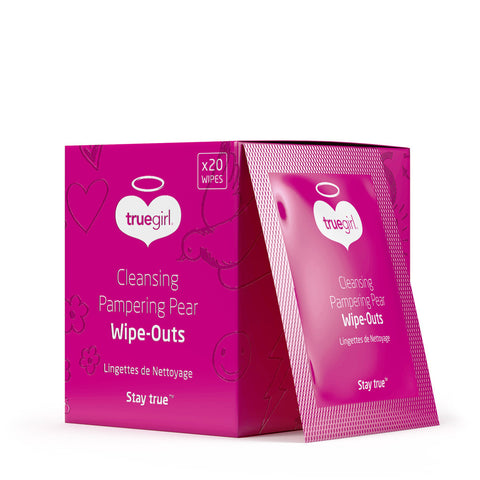 Cleansing Pampering Pear <br> Wipe Outs