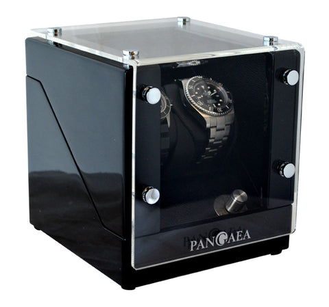 Pangaea D320 Double Automatic Watch Winder (Battery or AC Powered)