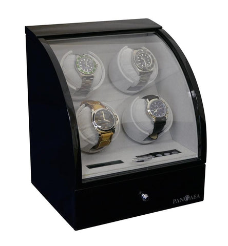 Pangaea Q400 Quad Automatic Watch Winder - Black