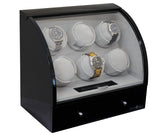 Pangaea Q600 Six Watch Winder (Piano Black)