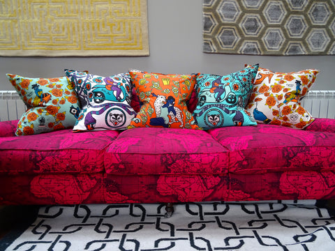 turquoise scatter cushions style ideas