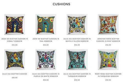Scatter Cushions at Porcupine Rocks