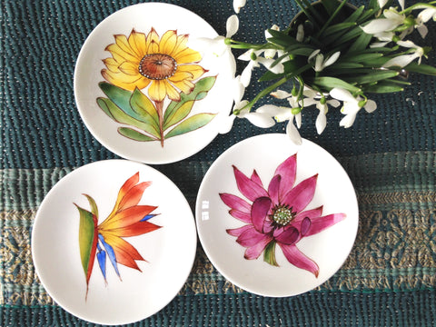 south african hand painted dishes for mothers day