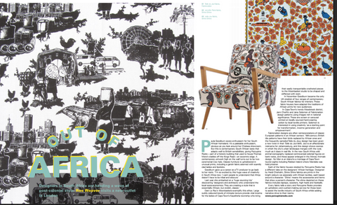 Toile du Jozi in Cover Magazine