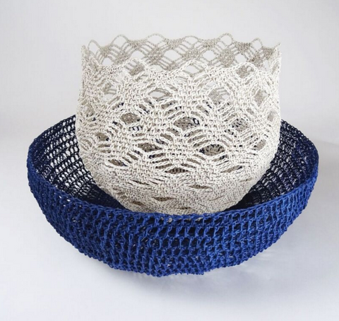 Crochet Baskets from Porcupine Rocks
