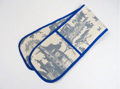 Oven glove in toile du jozi