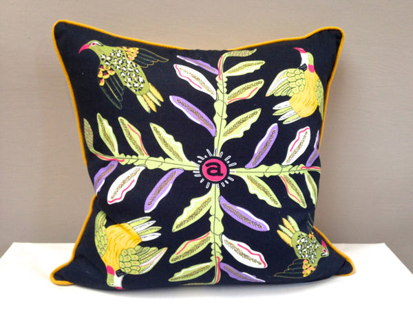 Bird Crossing Night Scatter Cushion
