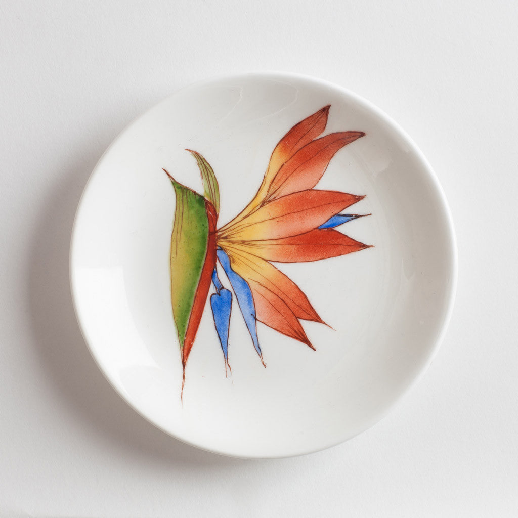 Bird of Paradise Shallow dish