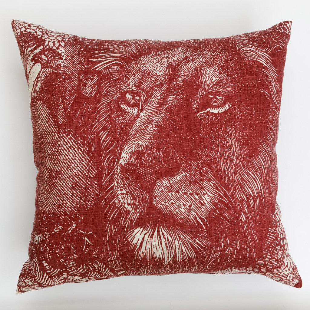 Red Scatter Cushions