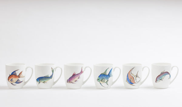Ceramic Fish Mugs