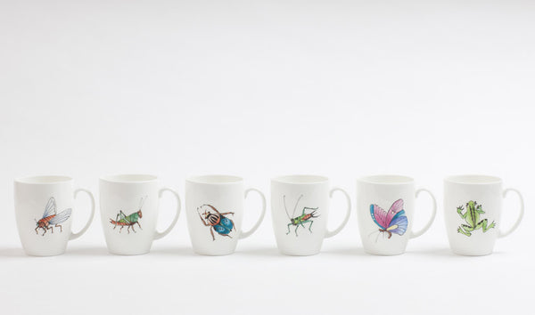 Ceramic Insect Mugs