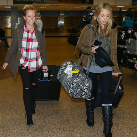 Jessica Hall and Kendra Wilkinson Banda Bags