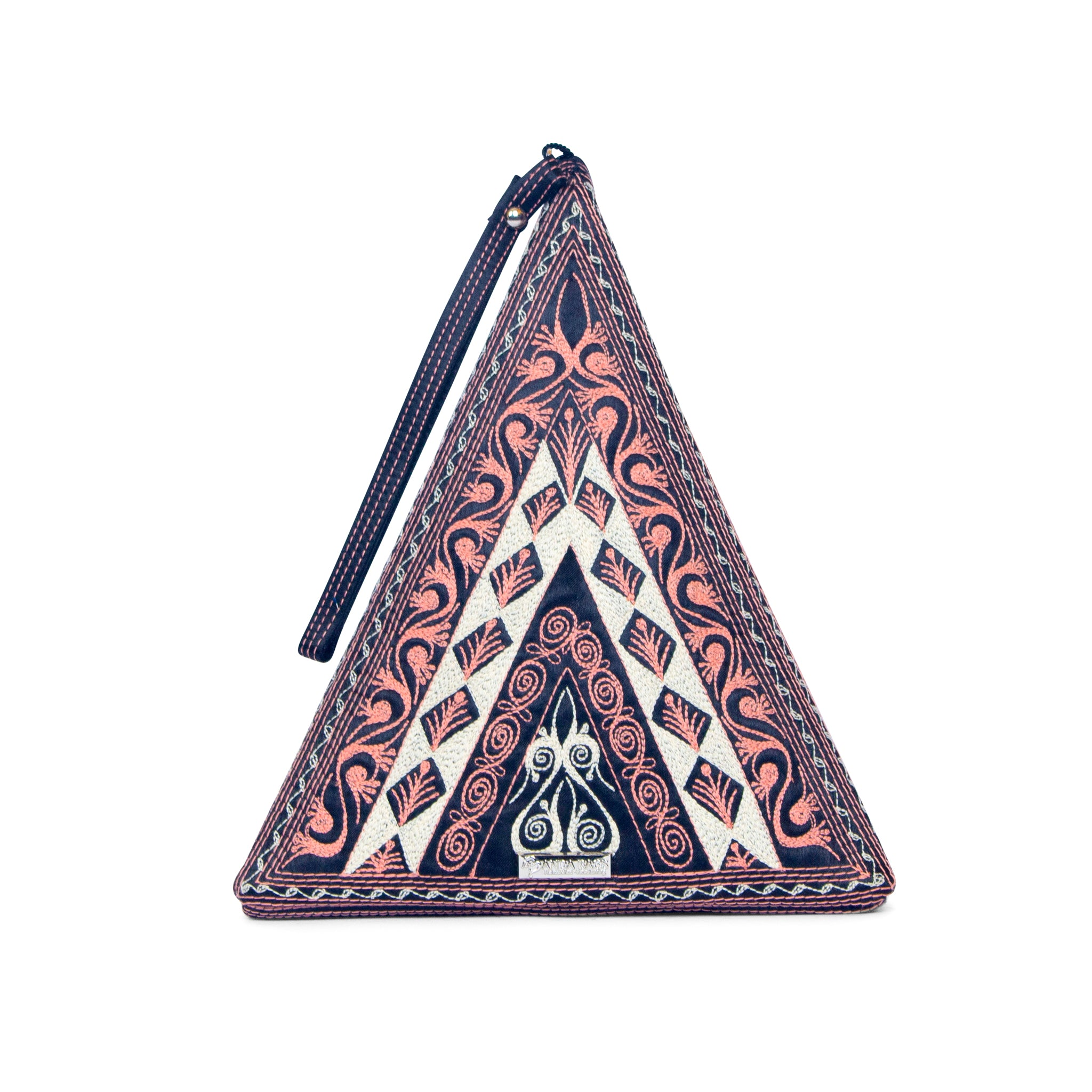 Gusi Triangle Clutch Banda Bag