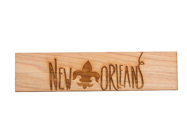 New Orleans Bookmark