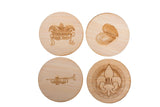 Compass Coaster Set