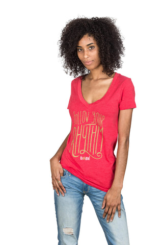 Women's Follow Your Rhythm Shirt