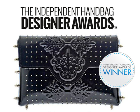 winner of the handbag design award in NY