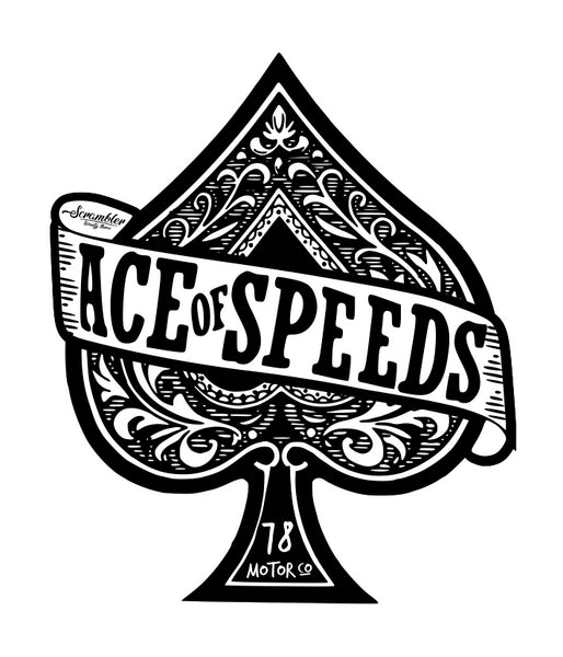 Ace Of Speeds Tee NEW