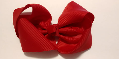 Red Hair Bows