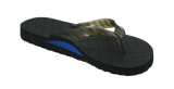 Locals Men's Arch Support Black Strap Slippa