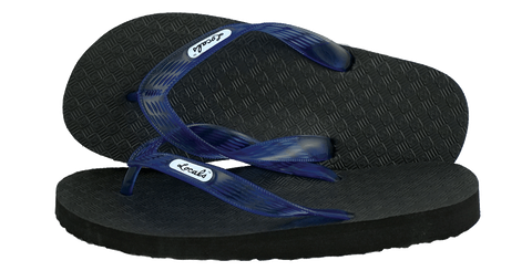 Locals Men's Arch Support Blue Strap Slippa