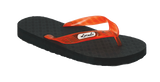 Locals Men's Arch Support Orange-Red Strap Slippa