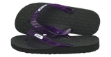 Locals Men's Arch Support Purple Strap Slippa