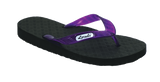 Locals Women's Arch Support Purple Strap Slippa