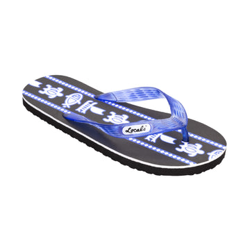 Sea Print Women's Blue Slippa