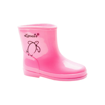 Kids Rain Boots - Pink (Toddler Size 5 US only)