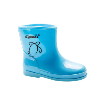 Kids Rain Boots - Turquoise (Toddler Size 4US and 5US only)