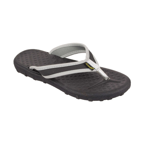 Lightweight Women's Slippa - Black/Gray